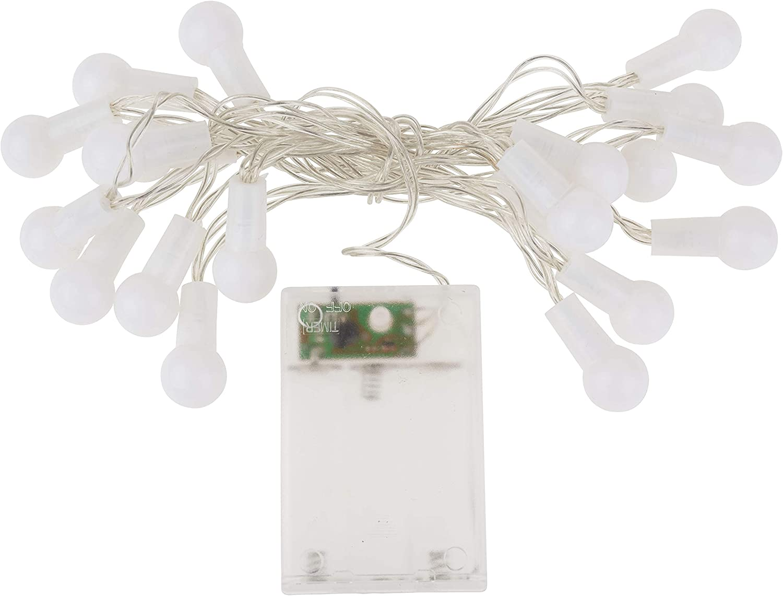 avec interrupteur Transparent Guirlande lumineuse LED VBS