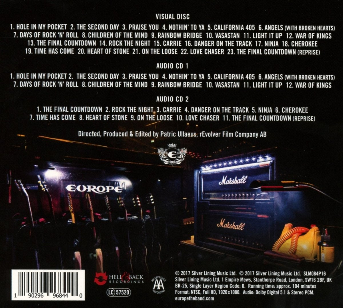 The Final Countdown 30th Anniversary Show-Live at : Europe ...