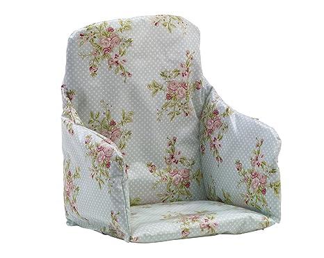 Messy Me alta silla Inserte cojín (Pastel rosas): Amazon.es ...