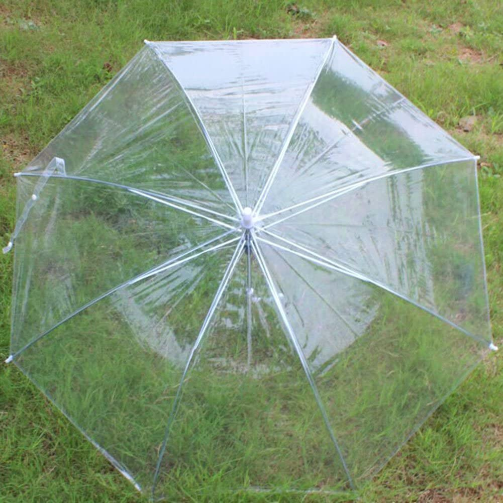 ESHOO Useful Transparent Clear Automatic Umbrella for Wedding Party Favor