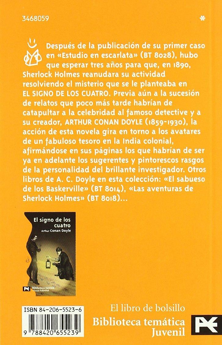 El Signo De Los Cuatro / The Sign Of Four (El Libro De Bolsillo) (Spanish Edition): Arthur Conan, Sir Doyle: 9788420655239: Amazon.com: Books