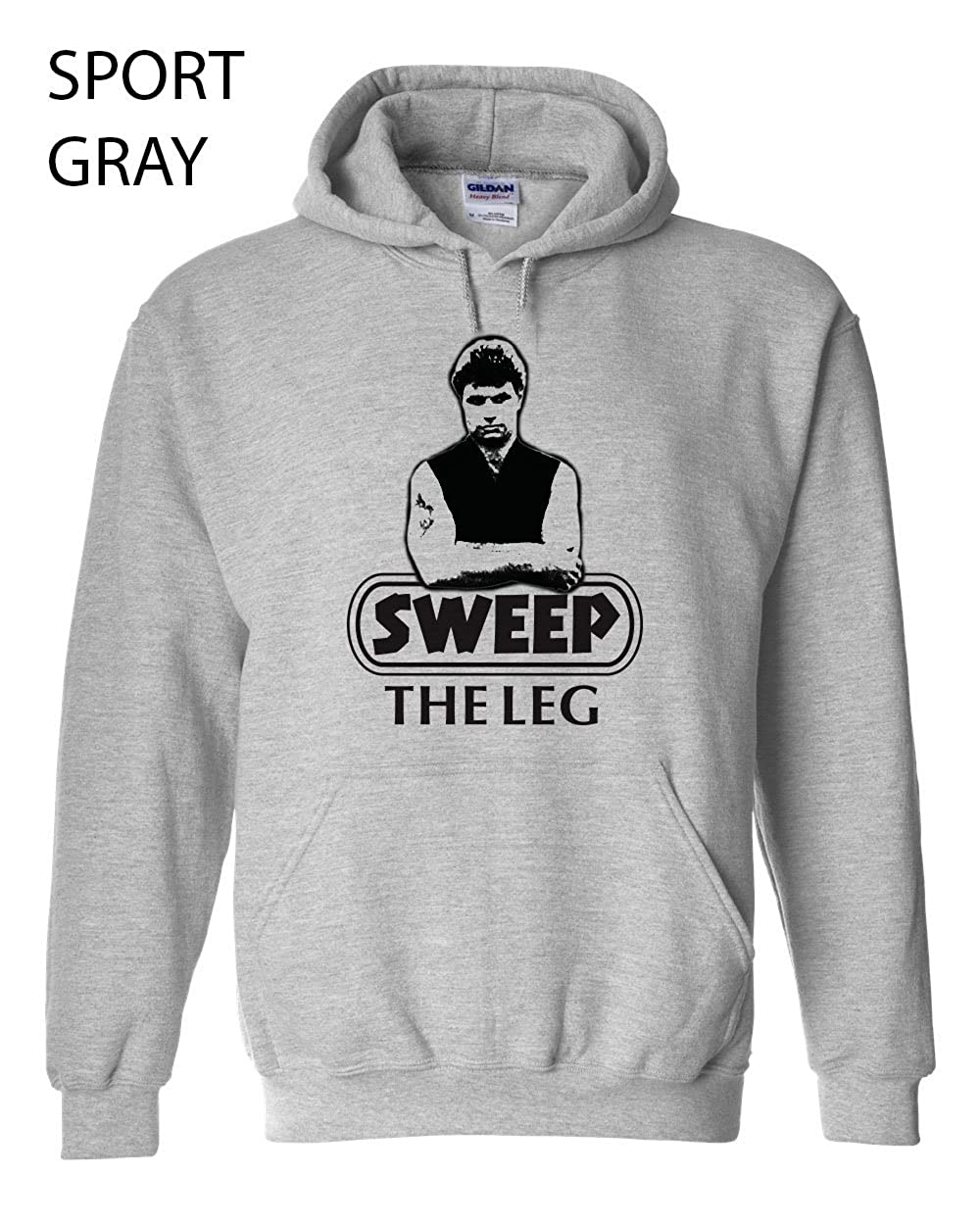 206 Sweep the Leg Funny Hooded Sweatshirt