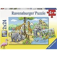 Ravensburger 2 X 24 Parça Puzzle Zoo (78066)