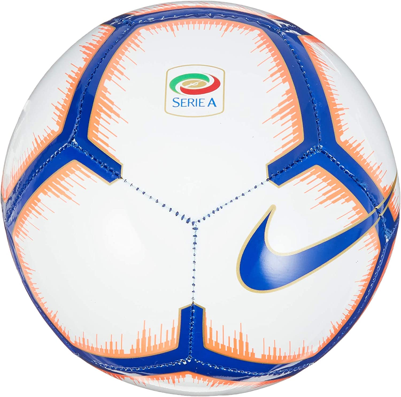 Nike Serie A Skills – Balón de fútbol, White/Bright Mango/Royal ...