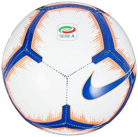 Nike Serie A Skills - Balón de fútbol, White/Bright Mango/Royal ...