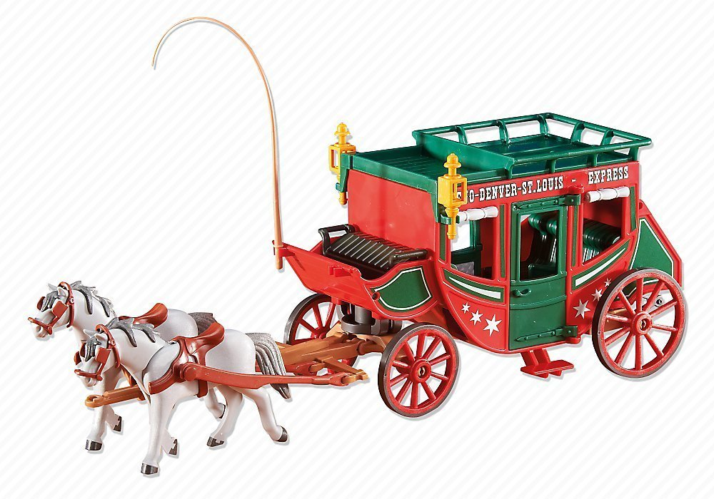 Stagecoach SG/_B013BNG2SG/_US Playmobil Add-On Series