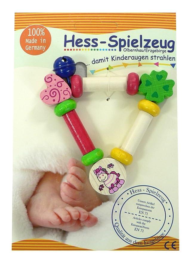 Amazon.com: Hess bebé juguete de madera figura decorativa ...