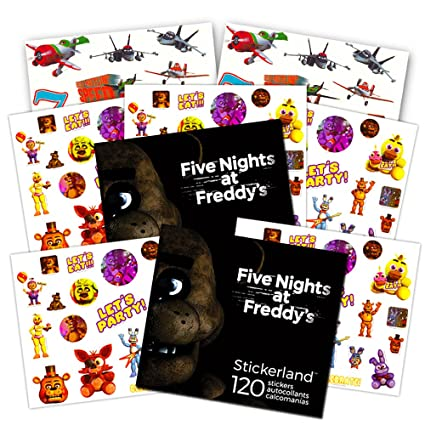 Amazoncom Five Nights At Freddys Party Supplies Stickers Set