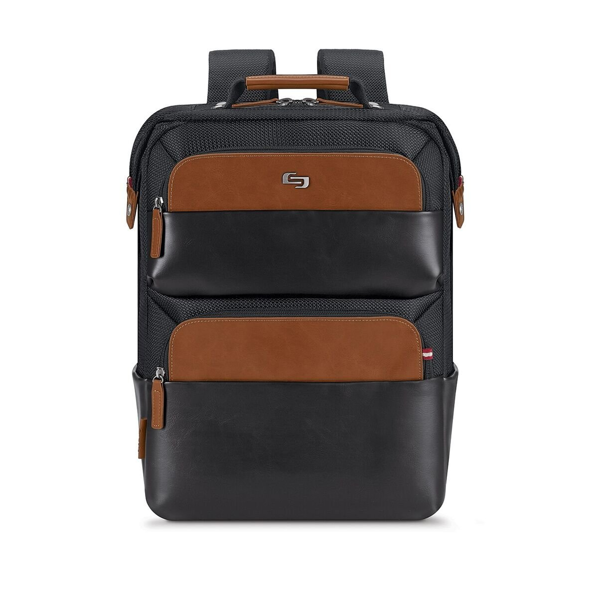 Solo East Hampton 15.6'' Laptop Backpack Briefcase, Black, One Size