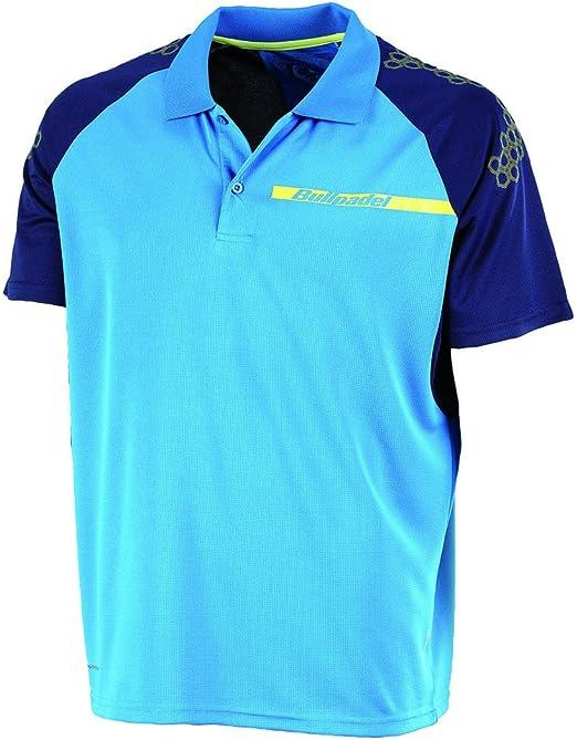 Bull padel Boxer - Polo para Hombre, Color Azul Intenso, Talla S ...