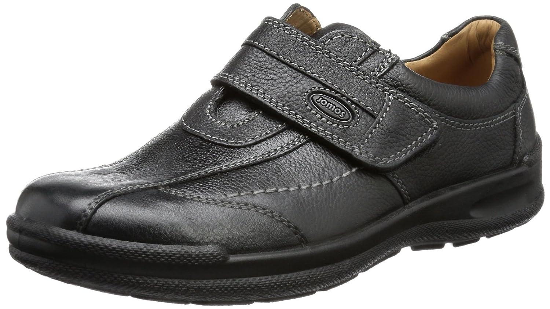 Jomos Man Life 2 - Zapatillas de casa de cuero hombre 43 EU|Negro - Negro