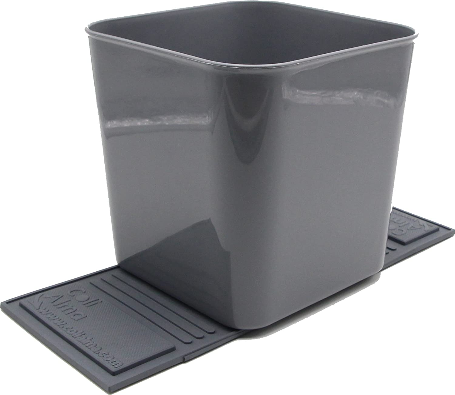 Auto Car Vehicle Garbage Can Trash Bin Waste Container Quality Plastic EXTRA LARGE 1 Gallon 4 Liter Quality For Life
