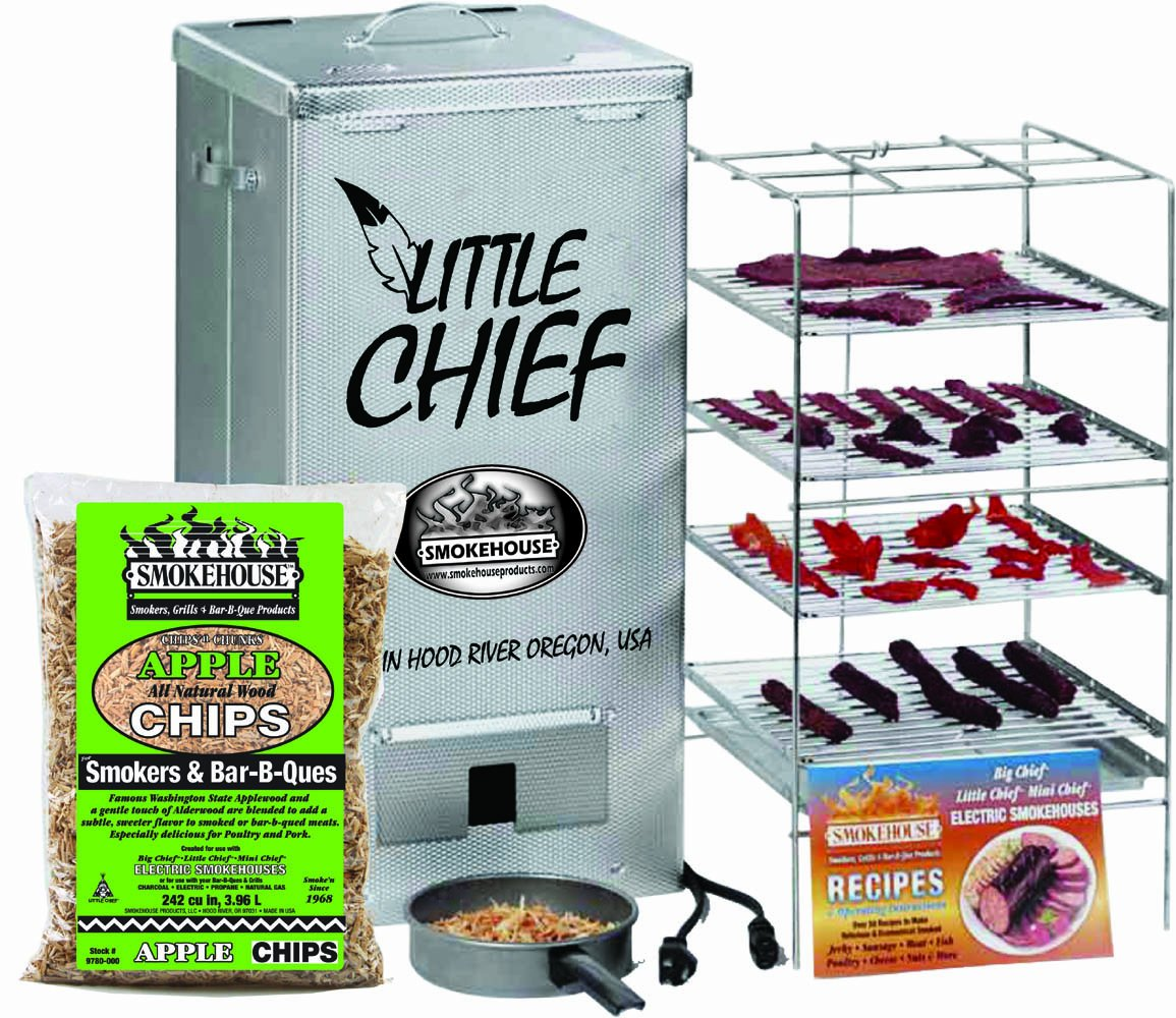 how to make beef jerky in a little chief smoker