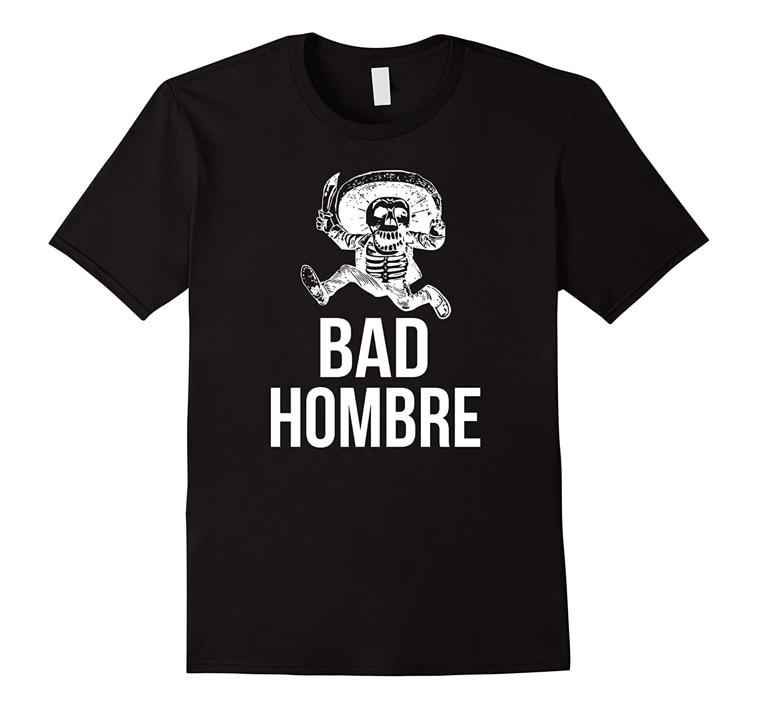 Bad Hombre to Nasty Women Trump Ombre Debate T-Shirt-BN