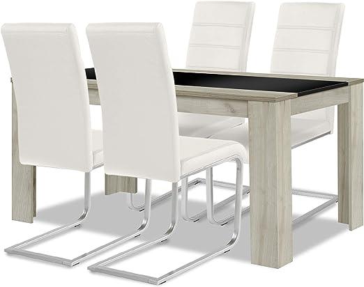 Allegro para una mesa de comedor + conjunto de silla: 1 x 4