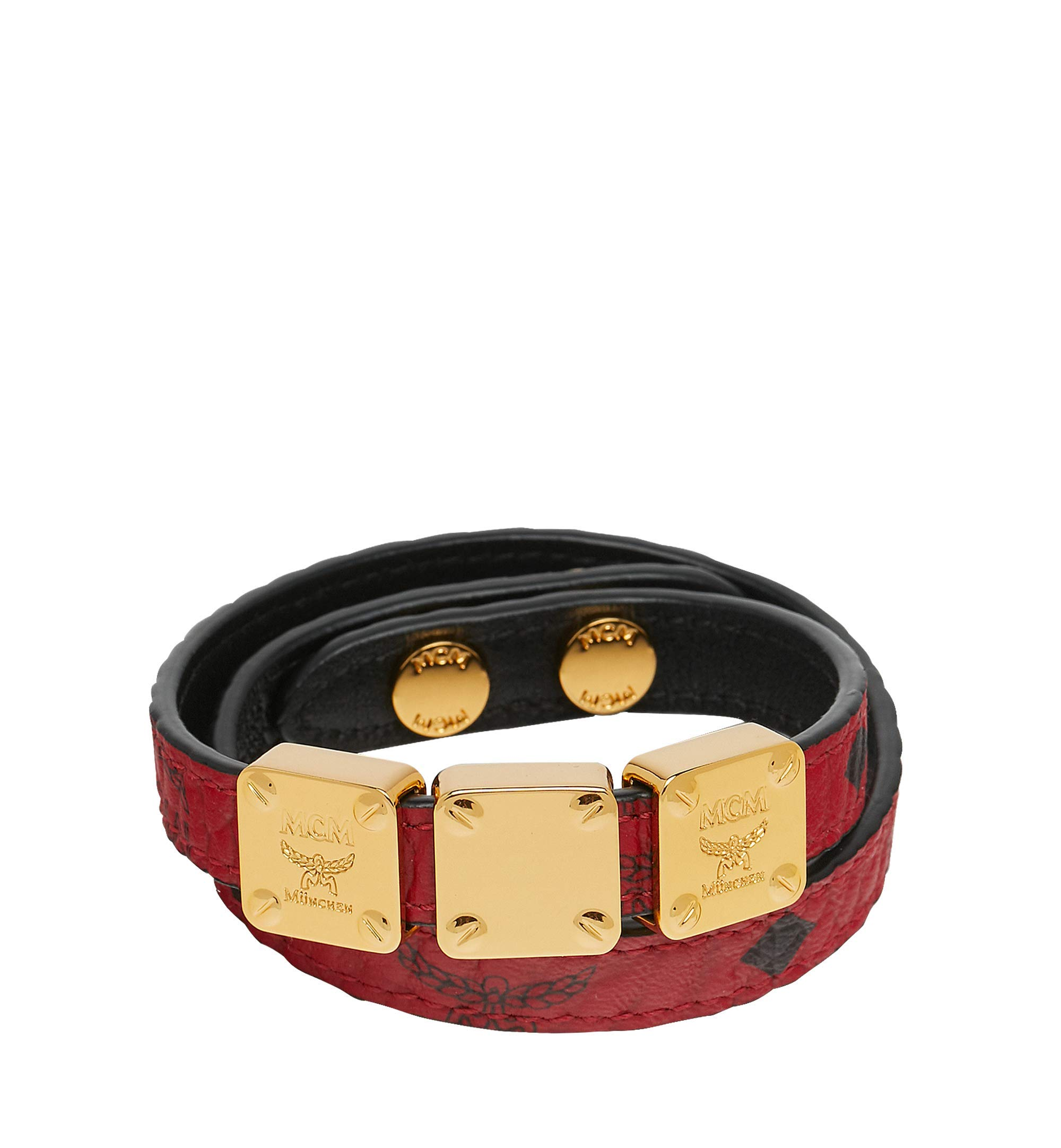 MCM Women's Project (RED) Double Bracelet, Ruby, ONE SIZE by MCM