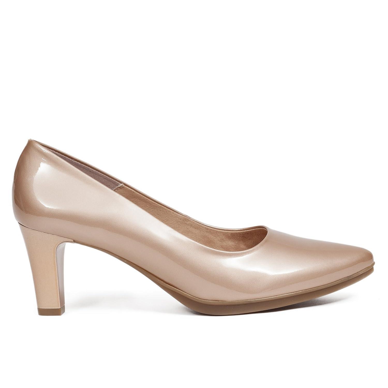 Zapato de Tacón Charol Urban Dorado 36 EU