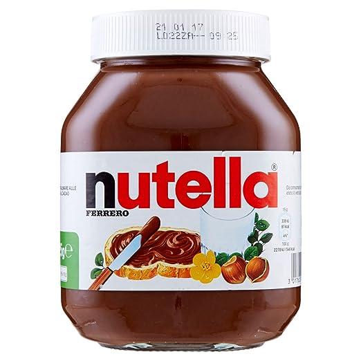 35 opinioni per Nutella Ferrero- 3 pezzi da 825 g [2475 g]