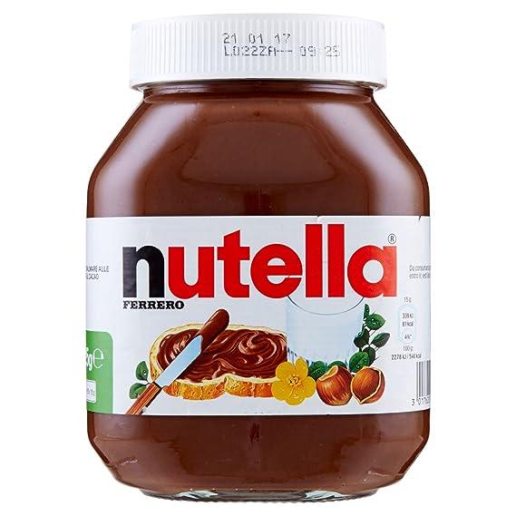 Amazon mini nutella viaje españa