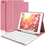 """iPad Keyboard Case 9.7"""" 6th Generation with Pencil Holder for New iPad Pro 2018/2017 (5th Gen), iPad Air 2/Air 1…"""
