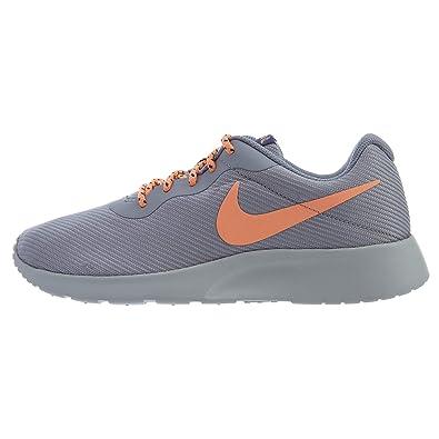 new concept 3a978 0640e Amazon.com   Nike Women s Tanjun SE Running Shoes, Provence Purple Orange  Pulse, 6.5   Fashion Sneakers