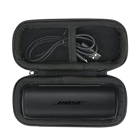 para Bose SoundSport Free - Auriculares intraurales inalámbricos EVA Duro Viaje Estuche Bolso Funda por Khanka