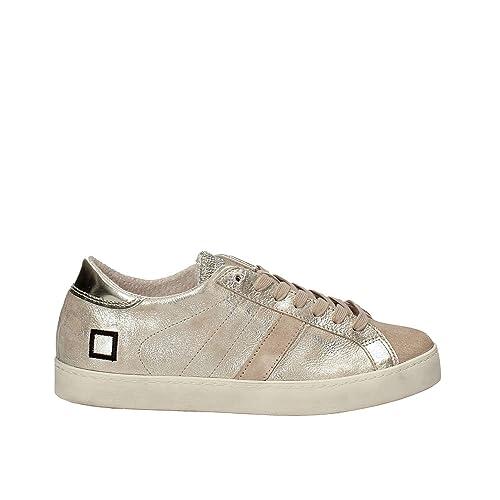 D.a.t.e. W271-HL-ST-PL Sneakers Women Platino 40