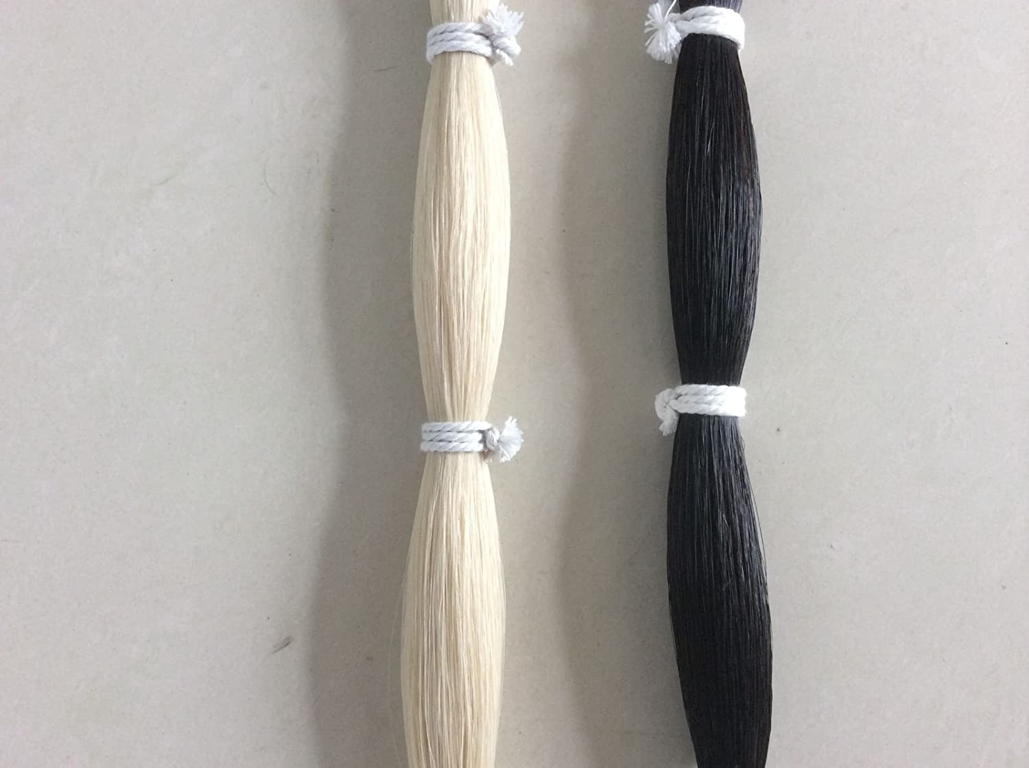 Black and White Horse Tail Hair Extension 70-76cm 170grams