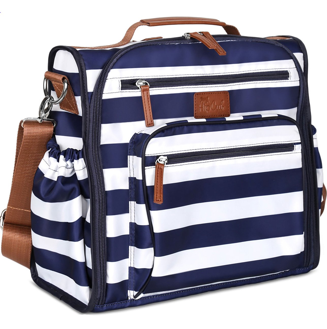 beb76ace74025 Amazon.com : Diaper Bag Backpack by Hip Cub - Convertible W/Cute Designer  Baby Changing Pad : Baby