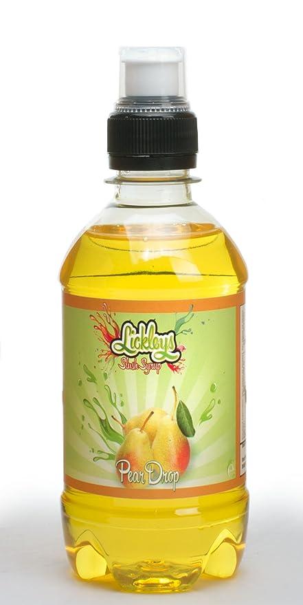 330ml Bottle of Pear Drop Flavoured Slush Syrup for Slush Machines, Slush  Puppy Style Drinks, Ice Drinks, Makes 2 Litres