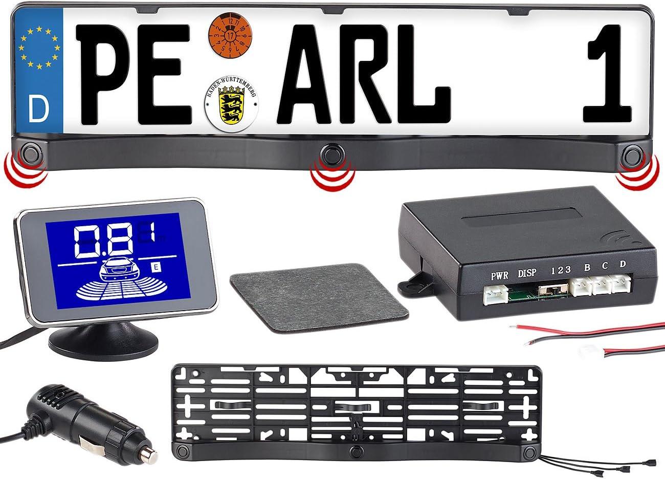 Lescars Rückfahrhilfen Funk Ultraschall Einparkhilfe Elektronik