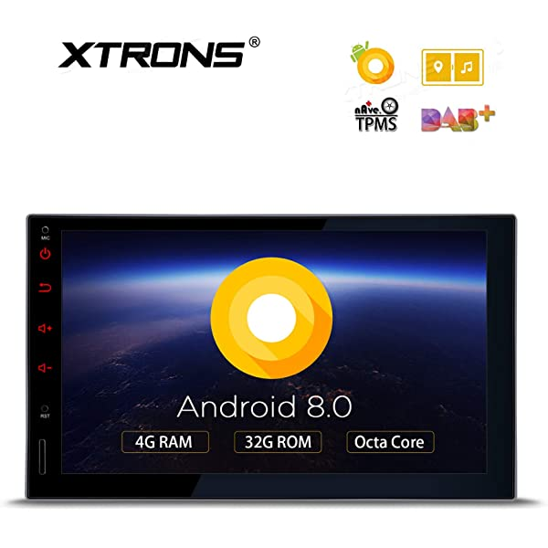 XTRONS 10 1 inch Android 8 0 Double 2 Din Octa Core 4G RAM