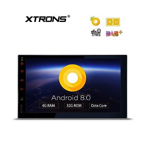 Radio Navegador 2 DIN Universal 7 Pulgadas Android 8 Xtrons: Amazon.es: Electrónica