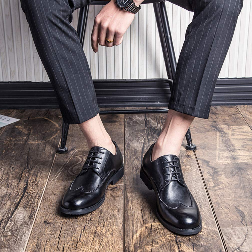 Phil Betty Mens Business Oxford Shoes Round Toe Fashion Comfortable Dress Shoes by Phil Betty (Image #6)