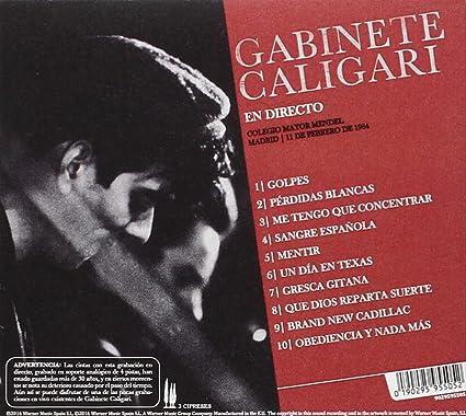 En Madrid Directo 1984: Gabinete Caligari, Gabinete Caligari ...