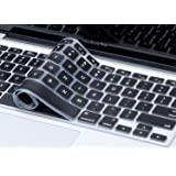 Plastron Silicone Keyboard Protector for MacBook Air (Black)