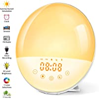 Despertador Luz, Wake Up Light Simulación Amanecer/Atardece, Ayuda
