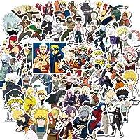 WayOuter Naruto Stickers 100 STKS Anime Stickers voor Jongens Laptop Skateboard Waterdichte Auto Sticker