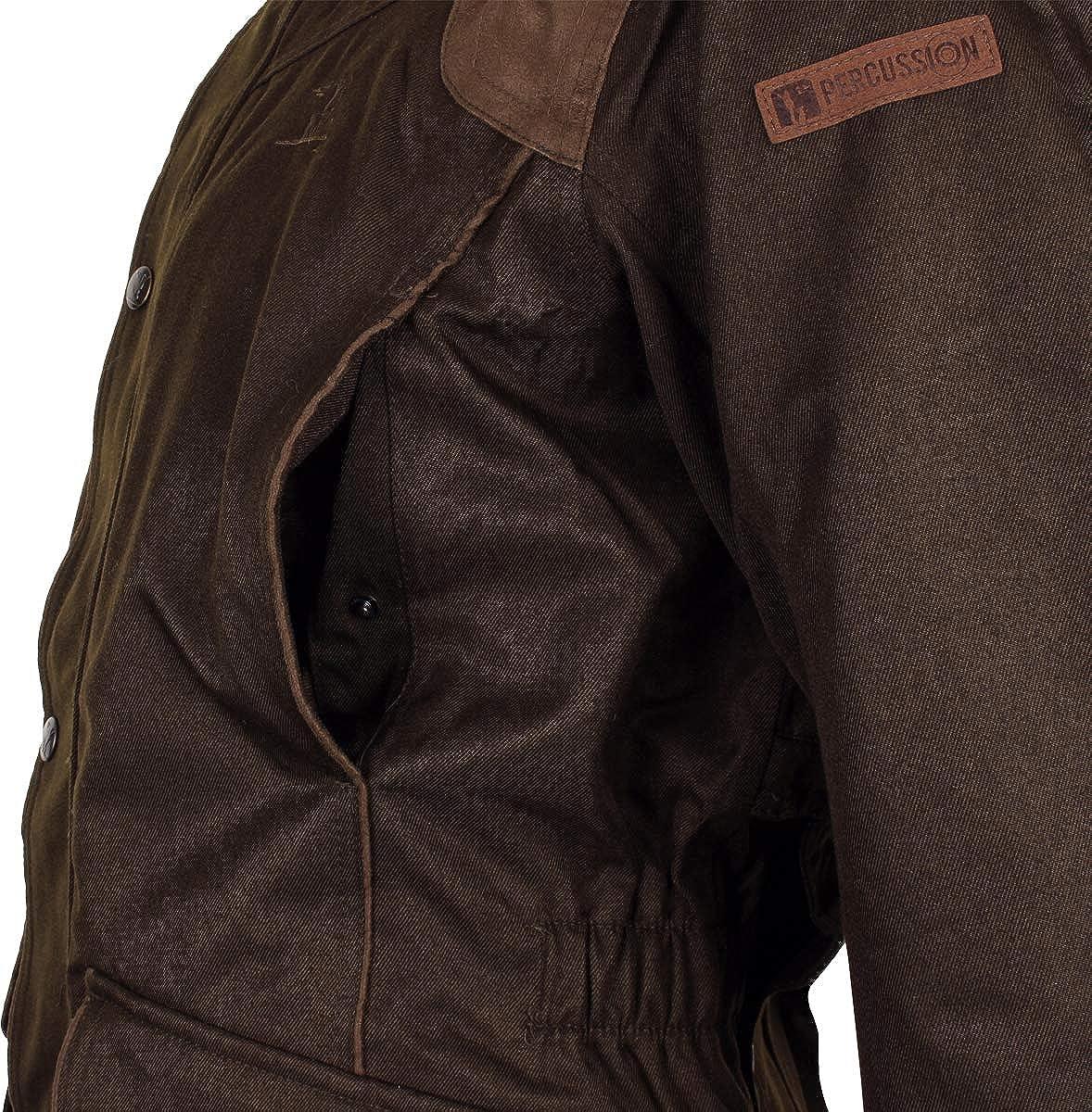 New Percussion Kid/'s Sologne Skintane  Waterproof Hunting Jacket Shooting Coat