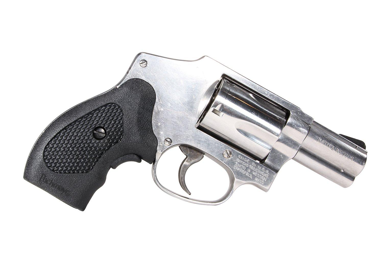 Amazon.com : Pachmayr GuardianGrip S&W J-Frame Revolver Grip, with ...