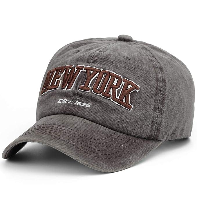 174d2d38823 Image Unavailable. Image not available for. Color  Summer Baseball Cap Men  100% Cotton Snapback Cap Hat Embroidery Men Women Vintage ...