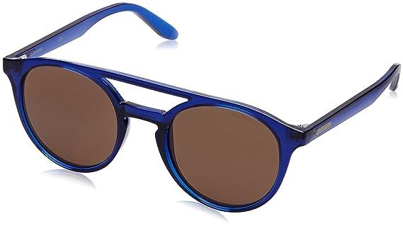 Carrera 5036/S 8E VV1, Montures de Lunettes Femme, Bleu (Bluette/Brown), 49