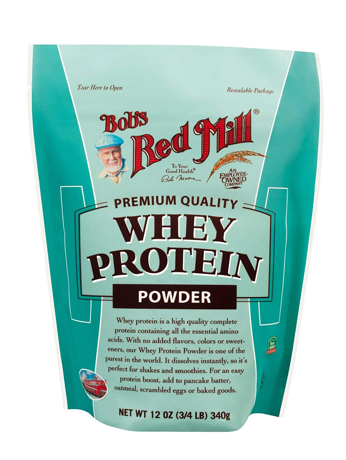 Bob's Red Mill All Natural Whey Protein Powder, 12 Ounce