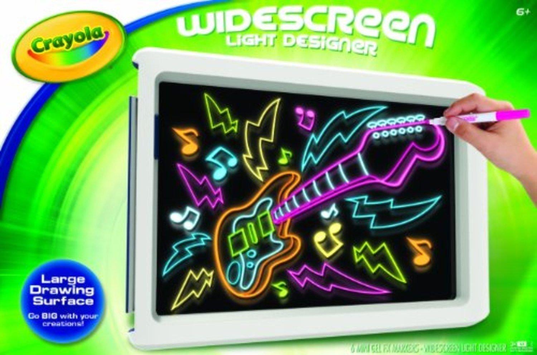 amazoncom crayola widescreen light designer 74 7053 toys games