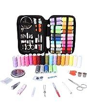 Kit de Costura, Vegbirt Coser Accesorios 91 piezas Accesorios de costura con funda para el