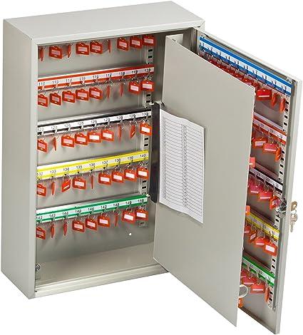 Caja de llaves OfficeForce para 150 llaves, con cierre (20087): Amazon.es: Oficina y papelería