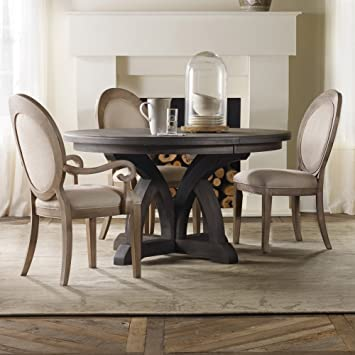 Hooker Furniture Corsica 54u0026quot; Round Dining Table With 18u0026quot; ...