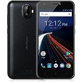 "Ulefone S7 - 4G Smartphone Libre (Android 7.0, 5.0"" HD Pantalla, MTK6580 Qcta Core, 1Gb Ram 8GB ROM, Dual Sim, Dual Cámara, 2500mAh Batería) (Negro)"