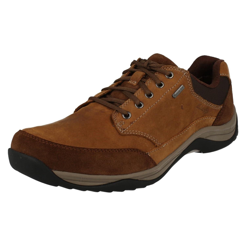 TALLA 39.5 EU. Clarks Baystone Ir Zapatos Gtx Para Hombre Amplia Casual