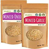 Yamees Minced Onion and Garlic – Minced Onions and Garlic Dried – Onion and Garlic Minced – Bulk Spices – 2 Pack of 10…